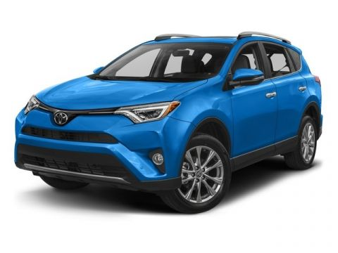 New 2017 Toyota RAV4 Limited Sport Utility With Navigation