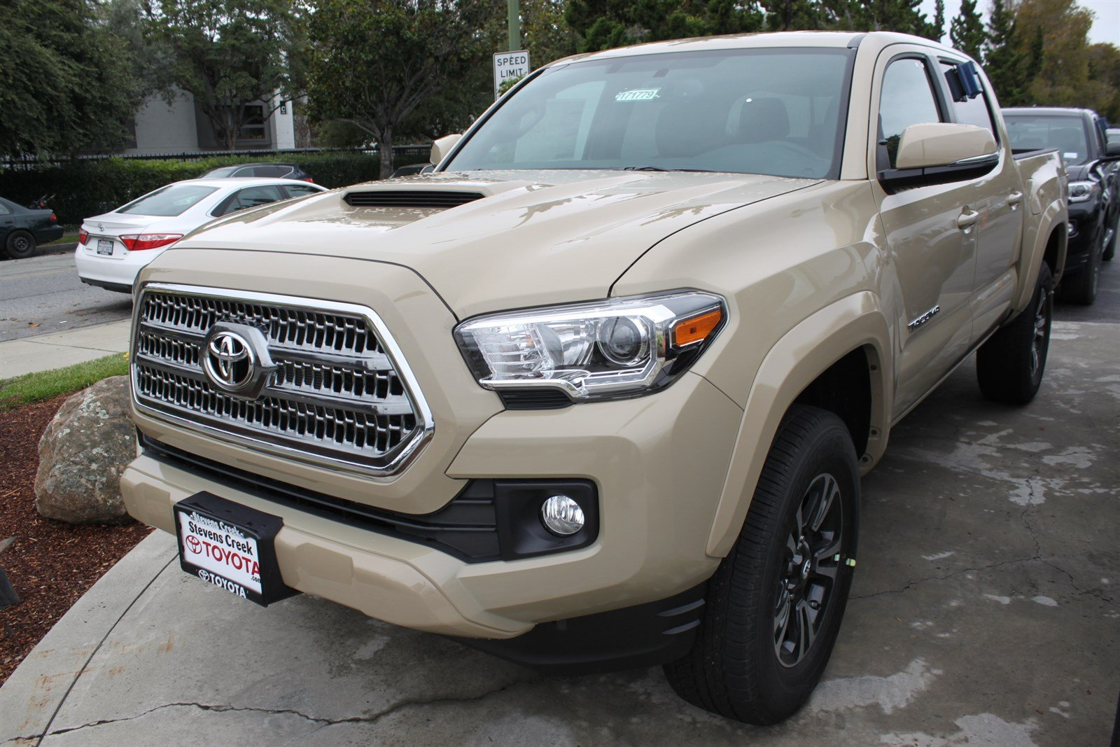 new 2017 toyota tacoma trd sport double cab in san jose t171779 stevens creek toyota. Black Bedroom Furniture Sets. Home Design Ideas