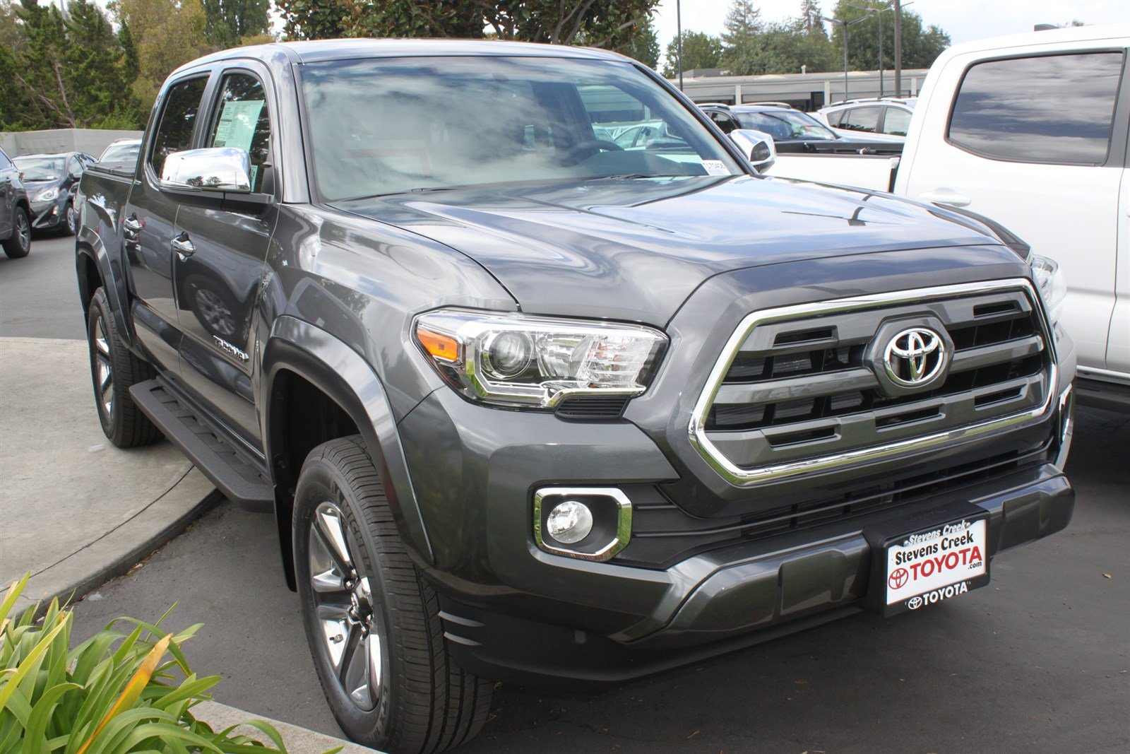 new 2017 toyota tacoma limited double cab in san jose t170406 stevens creek toyota. Black Bedroom Furniture Sets. Home Design Ideas