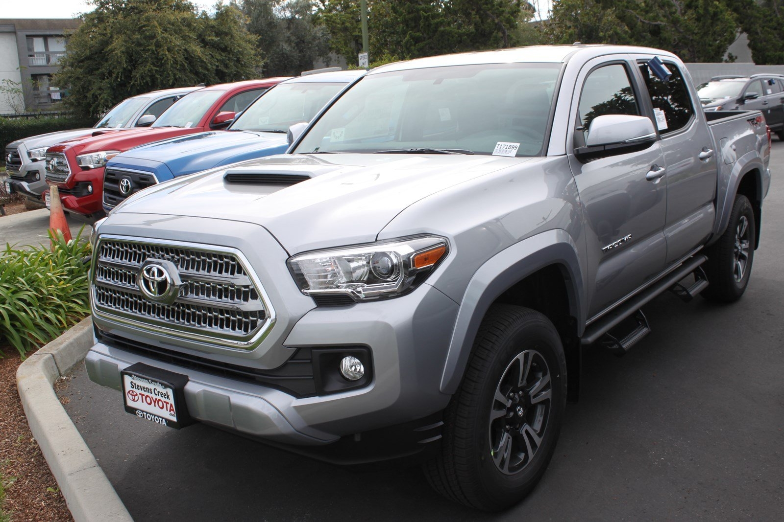 new 2017 toyota tacoma trd sport double cab in san jose t171899 stevens creek toyota