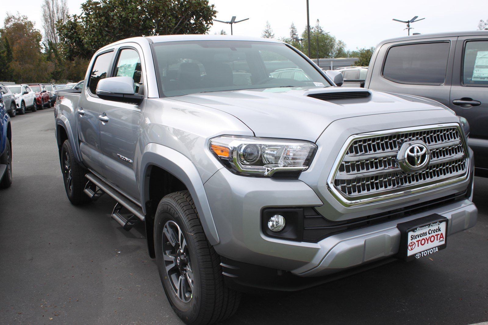 new 2017 toyota tacoma trd sport double cab in san jose t171899 stevens creek toyota. Black Bedroom Furniture Sets. Home Design Ideas