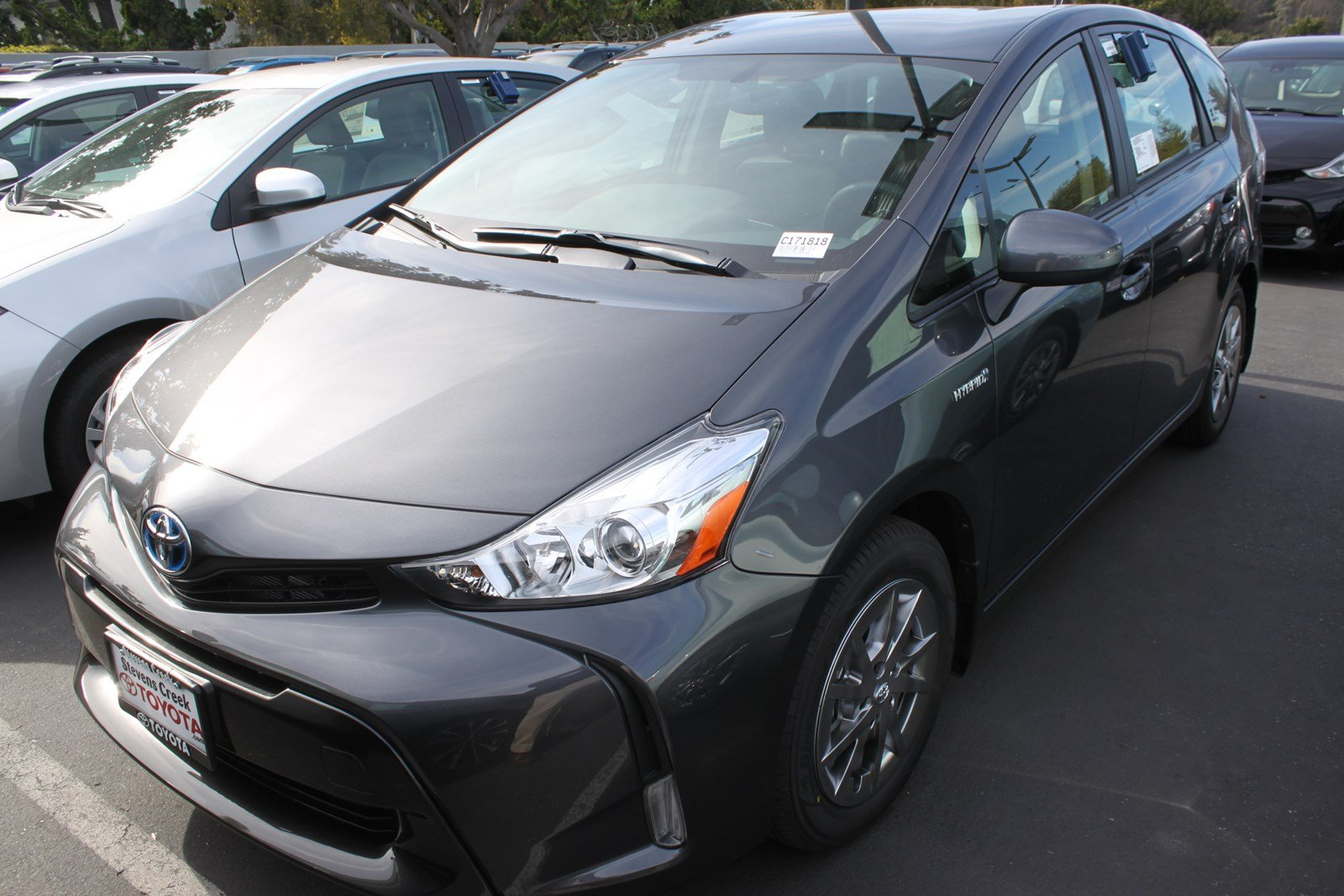 new 2017 toyota prius v four station wagon in san jose c171818 stevens creek toyota. Black Bedroom Furniture Sets. Home Design Ideas